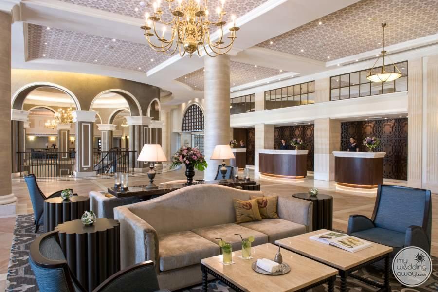 Elysium Hotel Lobby
