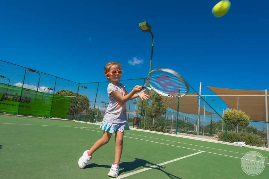 Hard Court Kids Tennis
