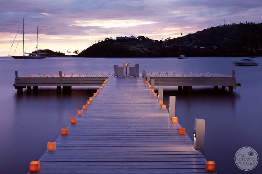 Candlelit Dining on the Jetty
