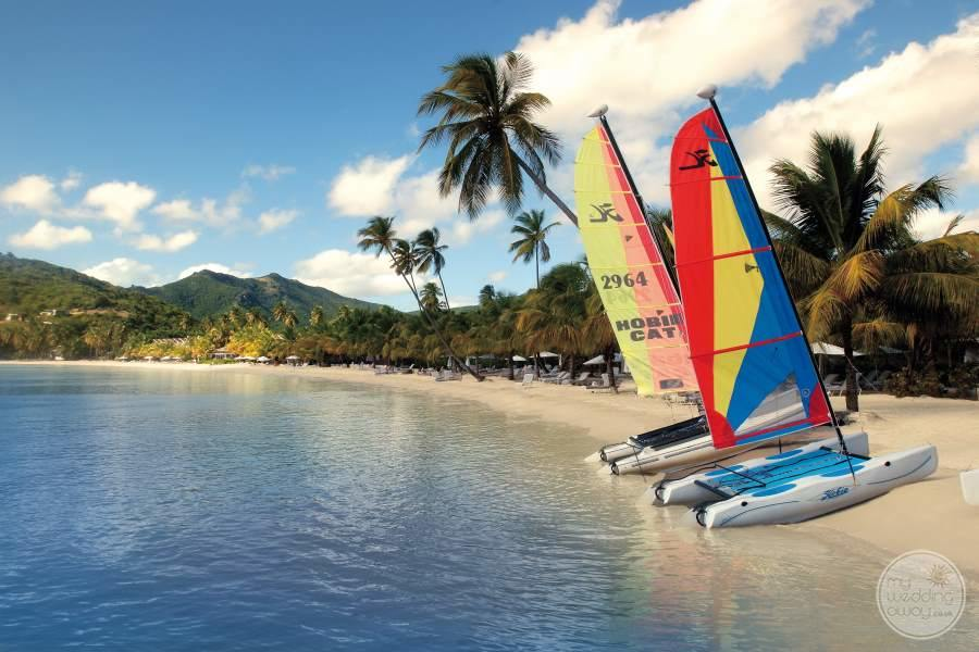 Carlisle Bay Resort Hobie Cats
