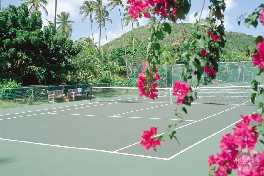 Tennis Course at Carlisle Bay Resort