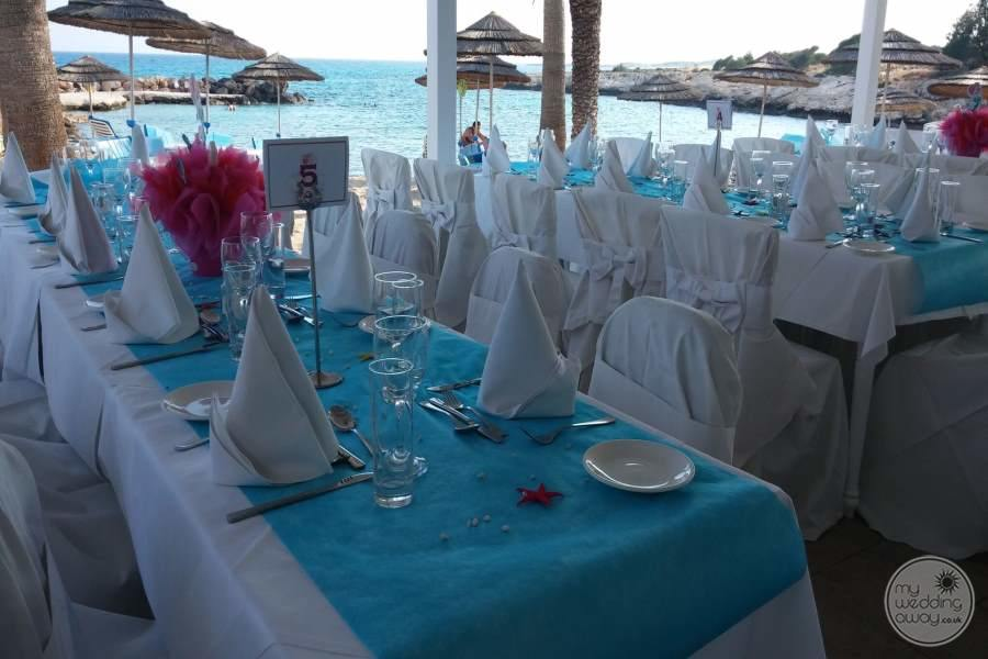 Wedding Reception at Adams Beach Hotel