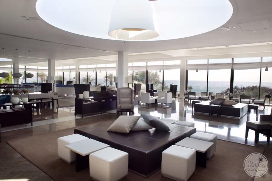 Lobby Area Almyra Hotel
