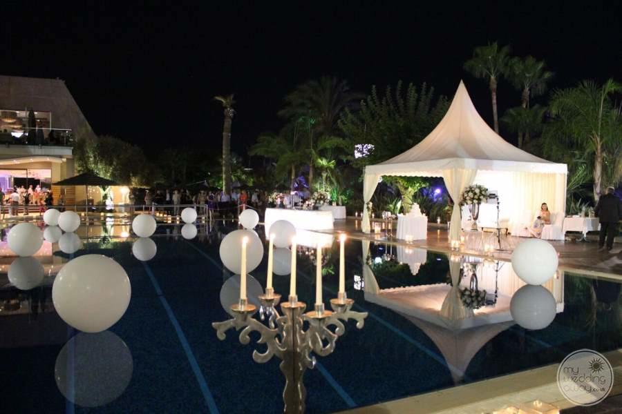 Amathus Beach Hotel Wedding Reception