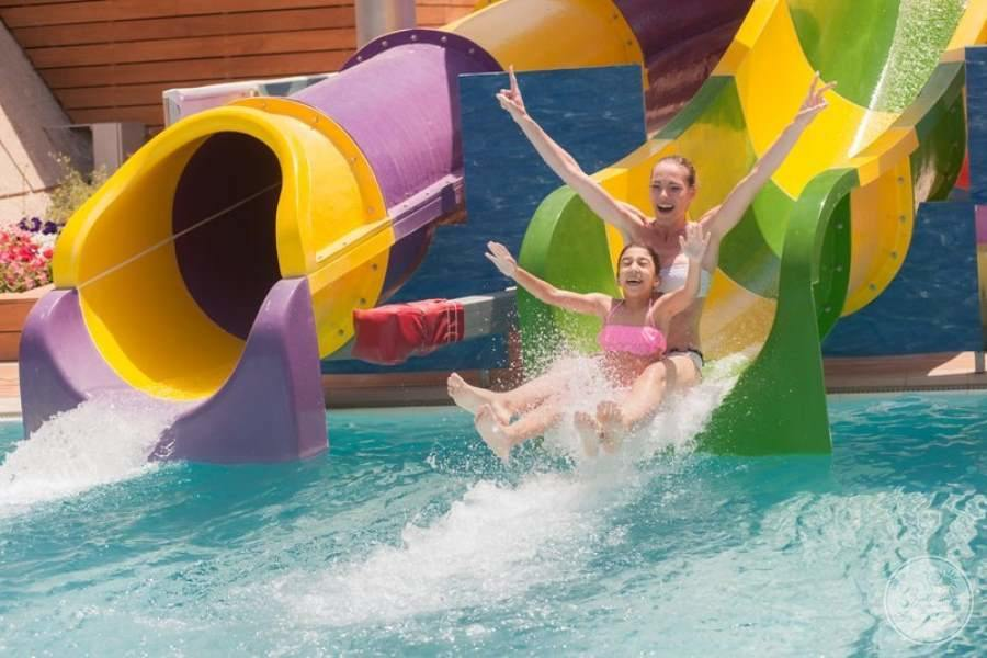Amathus Beach Hotel Water Slides