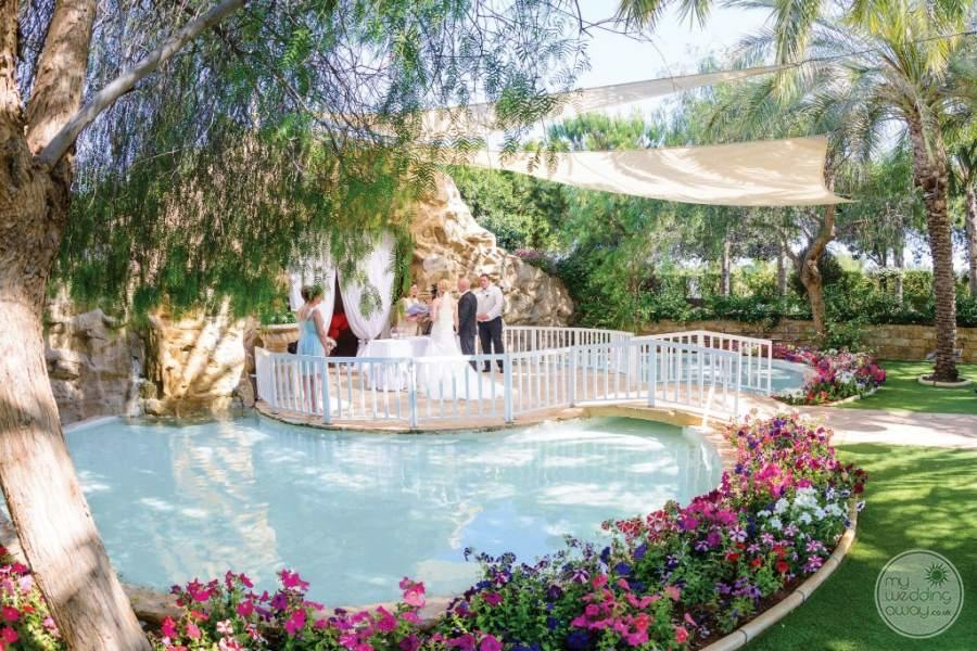 Ayia Napa Olympic Lagoon Wedding Venue