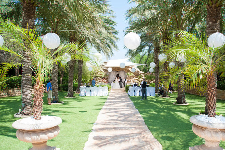 Garden Wedding at Ayia Napa Olympic Lagoon