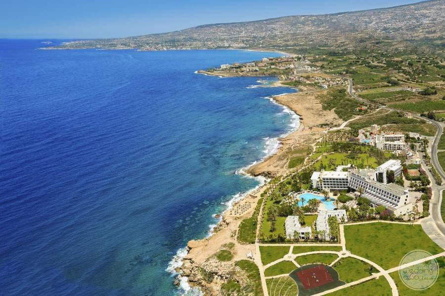 Aerial View of Azia Resort