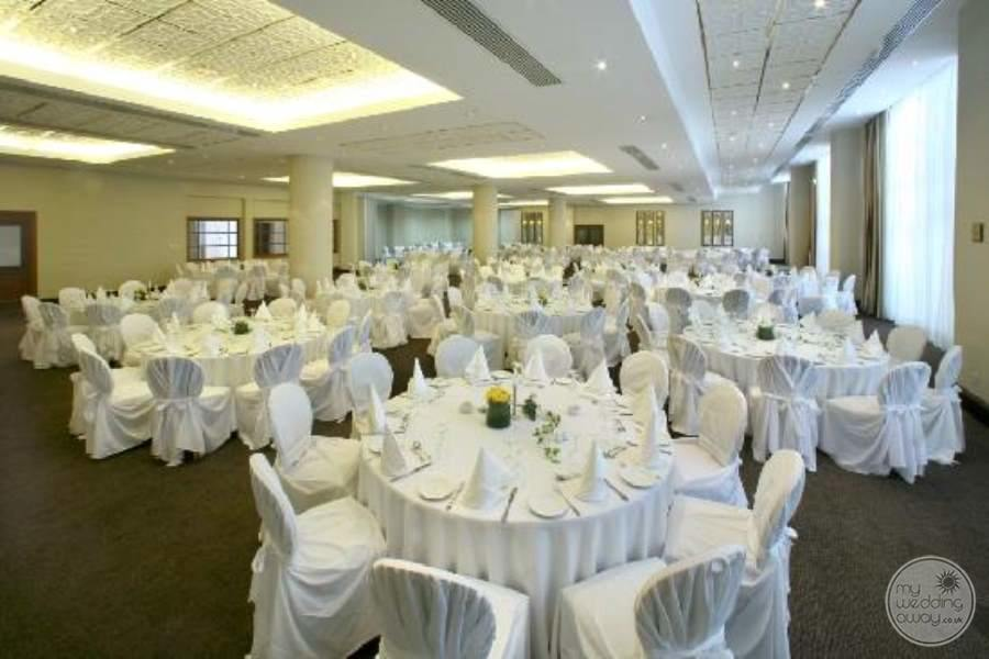 Indoor Ballroom Reception