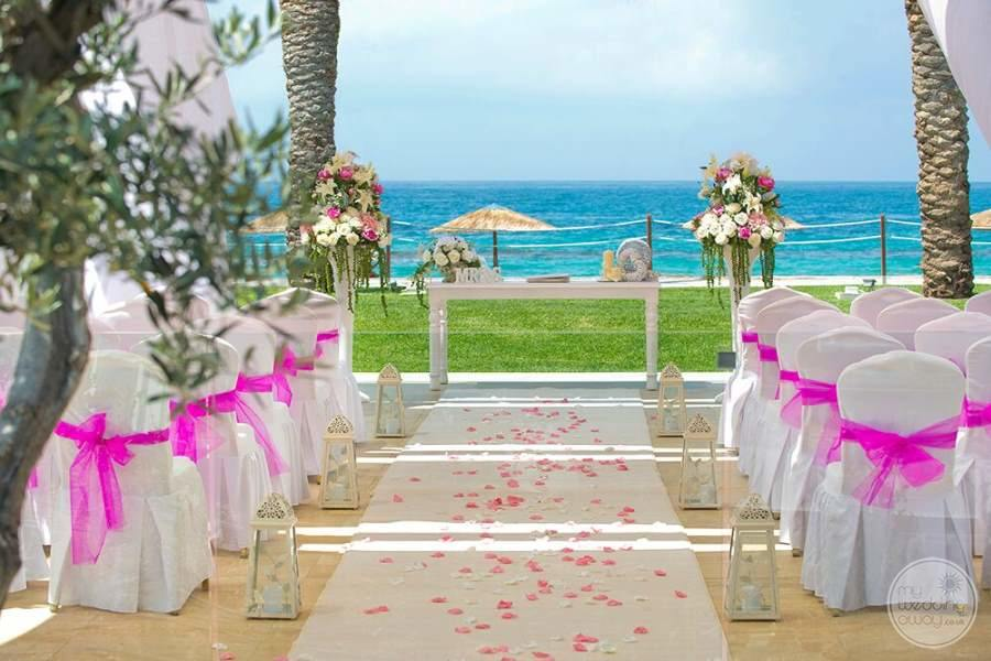 Paphos Olympic Lagoon Resort Wedding Area