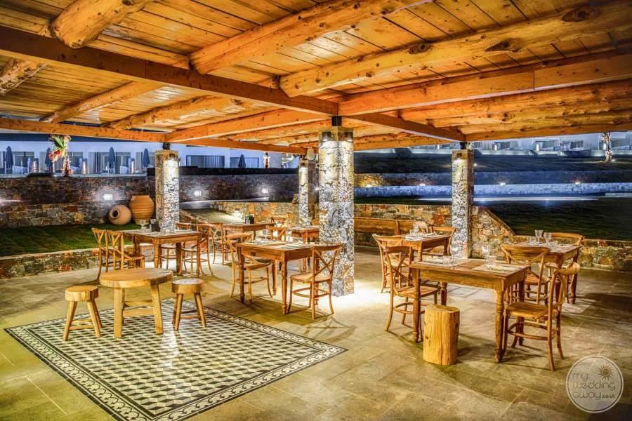 Abaton Island Resort Spa Dining Area