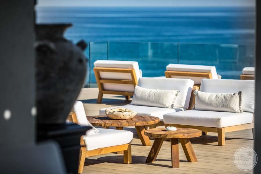 Abaton Island Resort Spa Outdoor Seating