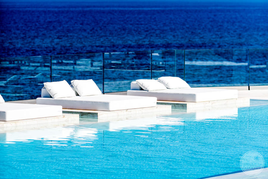 Abaton Island Resort Spa Pool Loungers