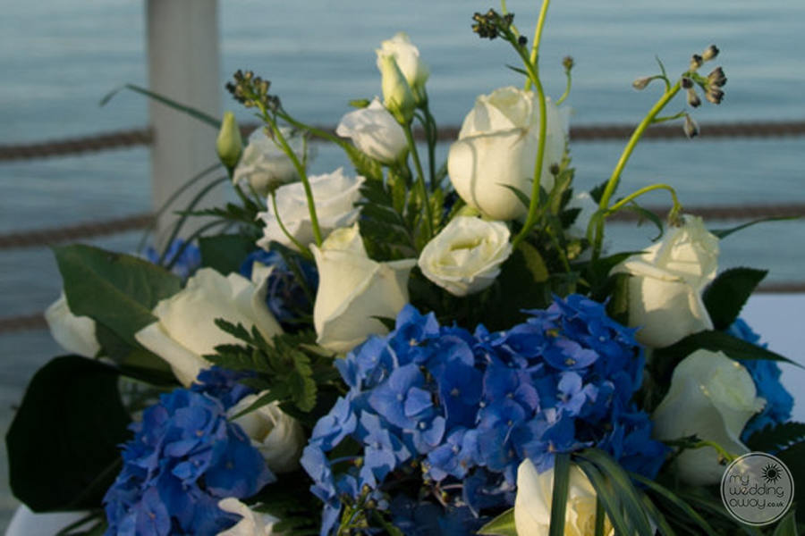 Domes of Elounda Wedding Flowers