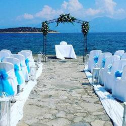 Minos Beach Art Hotel Oceanside Wedding