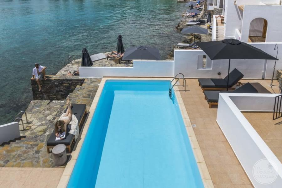 Minos Beach Art Hotel Pool
