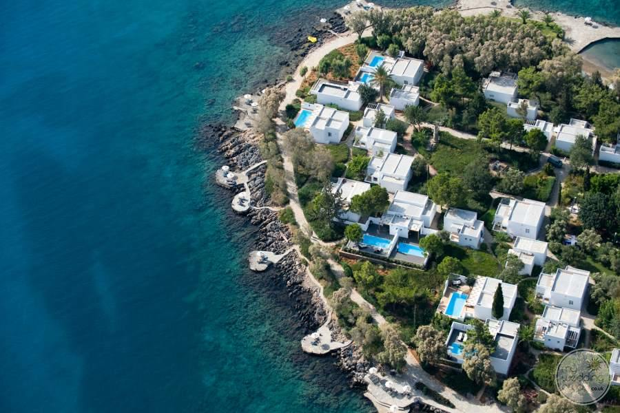 Minos Beach Art Hotel Resort Overview