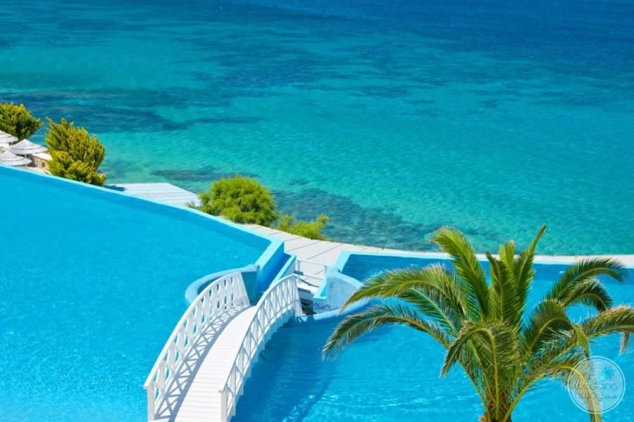 Saint John Pool and Mediterranean
