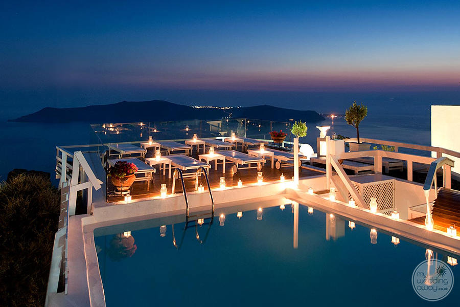 Artemis Villas Evening Views