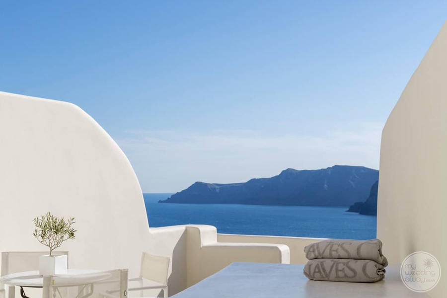 Canaves Oia Balcony View