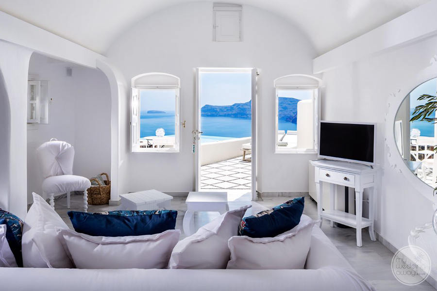 Canaves Oia Room Seating