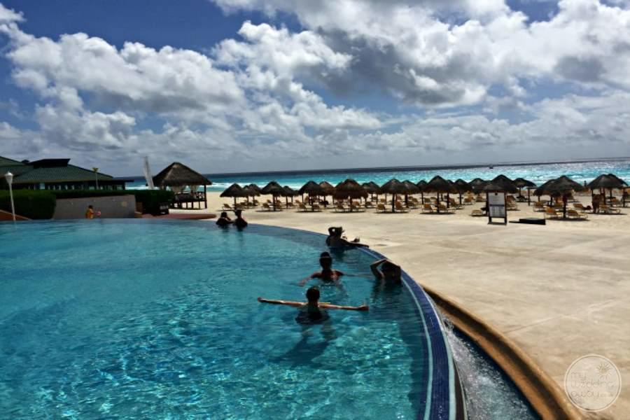 Iberostar Cancun Pool and Beach