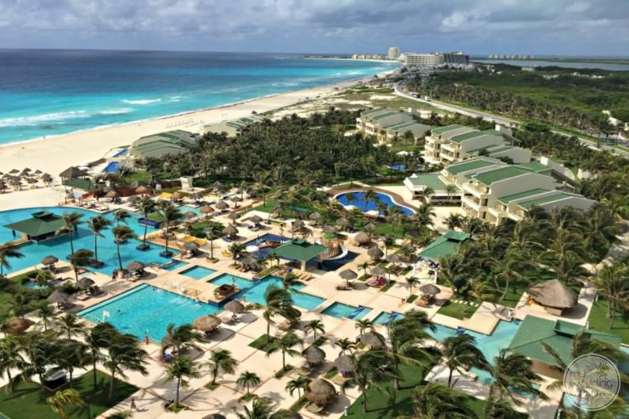 Iberostar Cancun Resort Aerial View
