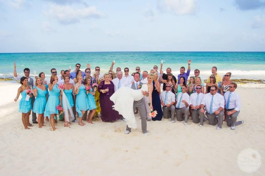 Iberostar Grand Hotel Paraiso Wedding Party