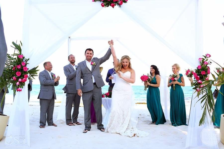 Iberostar Paraiso Beach Wedding