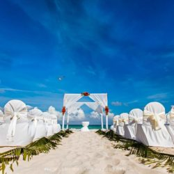 Iberostar Paraiso Del Mar Beach Wedding