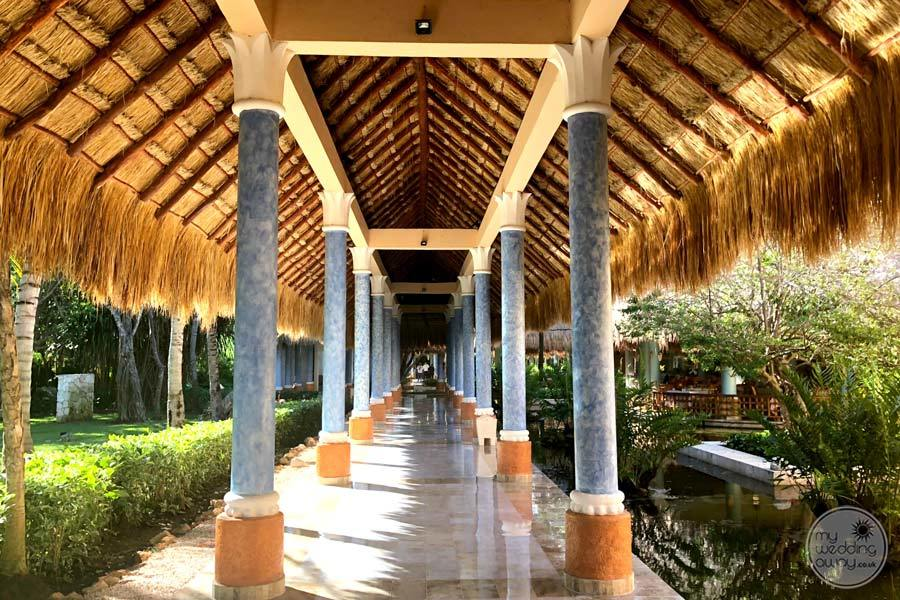 Iberostar Paraiso Del Mar Covered Walkway