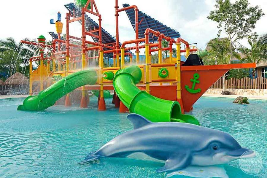 Iberostar Paraiso Lindo Water Slides
