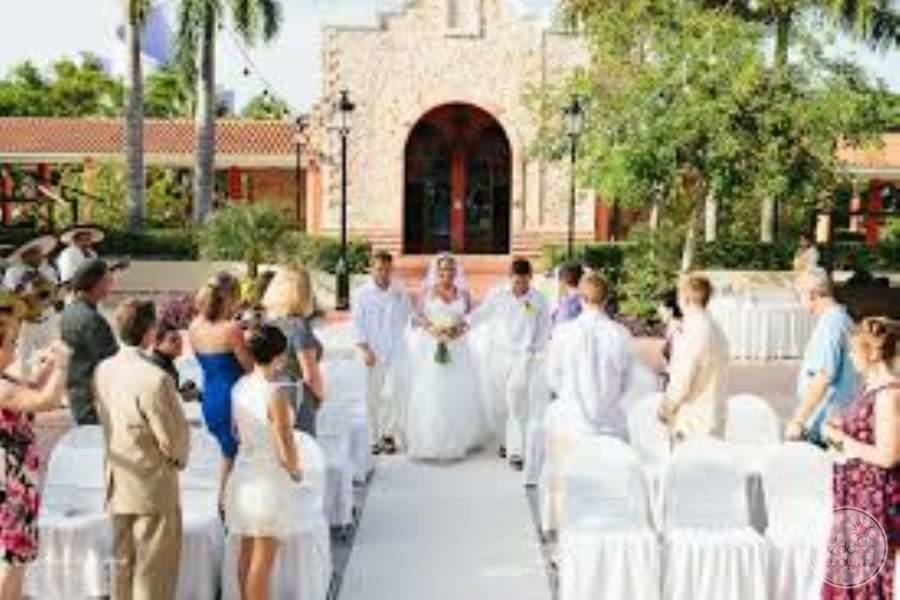 Iberostar Paraiso Lindo Wedding Ceremony