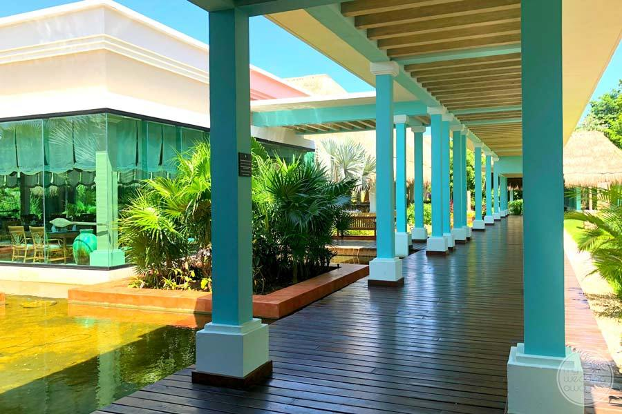 Iberostar Paraiso Maya Covered Walkway 2