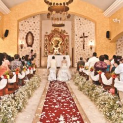Iberostar Paraiso Maya Indoor Wedding Ceremony