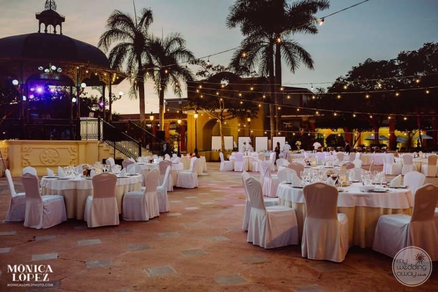 Iberostar Paraiso Maya Outdoor Wedding Reception