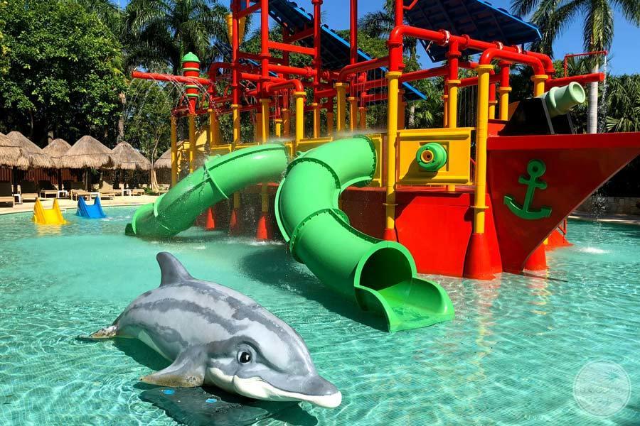 Iberostar Paraiso Maya Water Slide