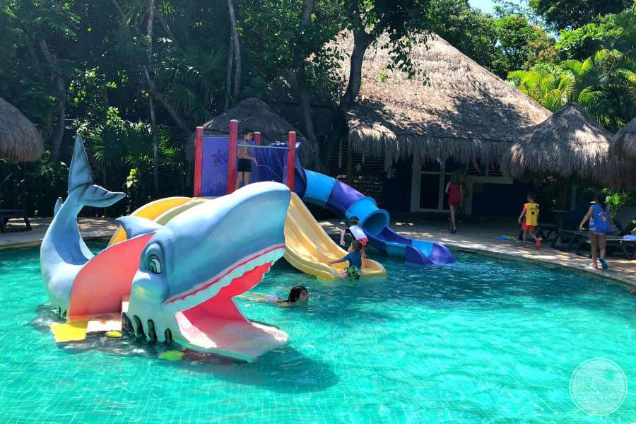 Iberostar Quetzal Water Slides
