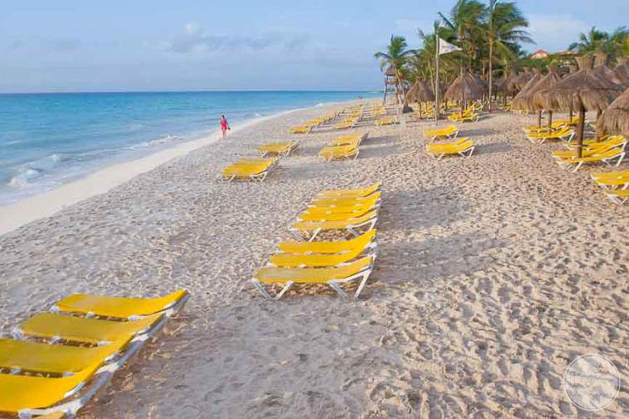 Iberostar Tucan Beach Lounge Chairs
