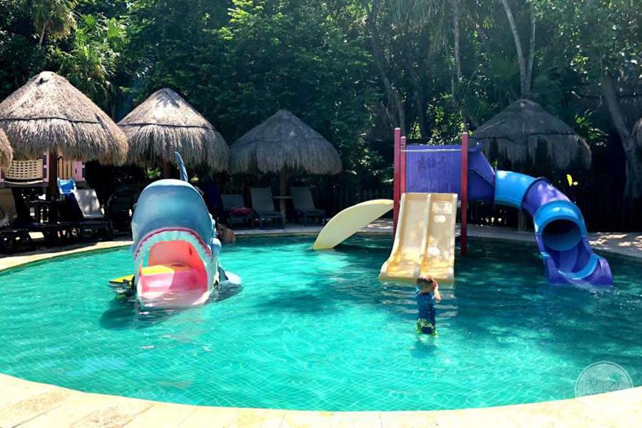 Iberostar Tucan Water Slides