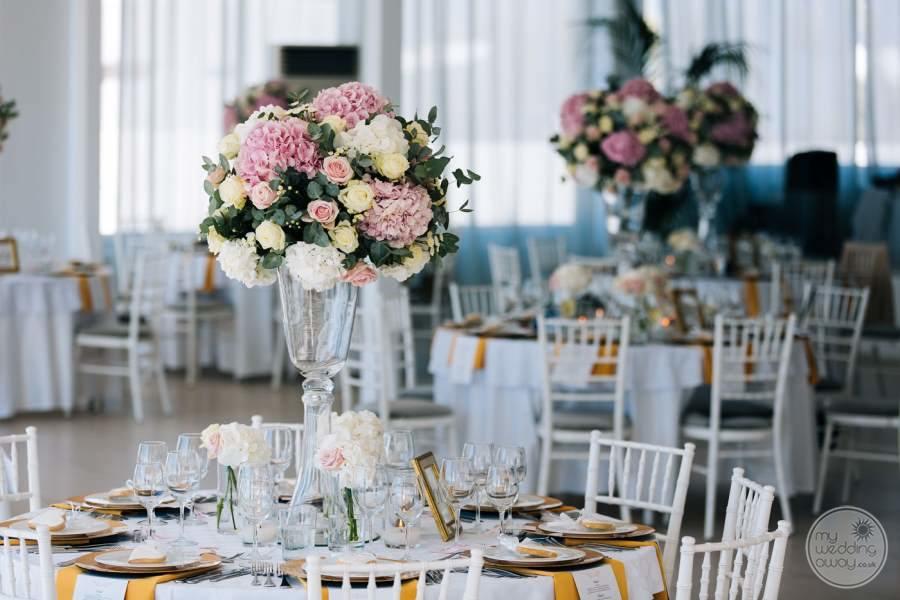 Le Ciel Wedding Reception