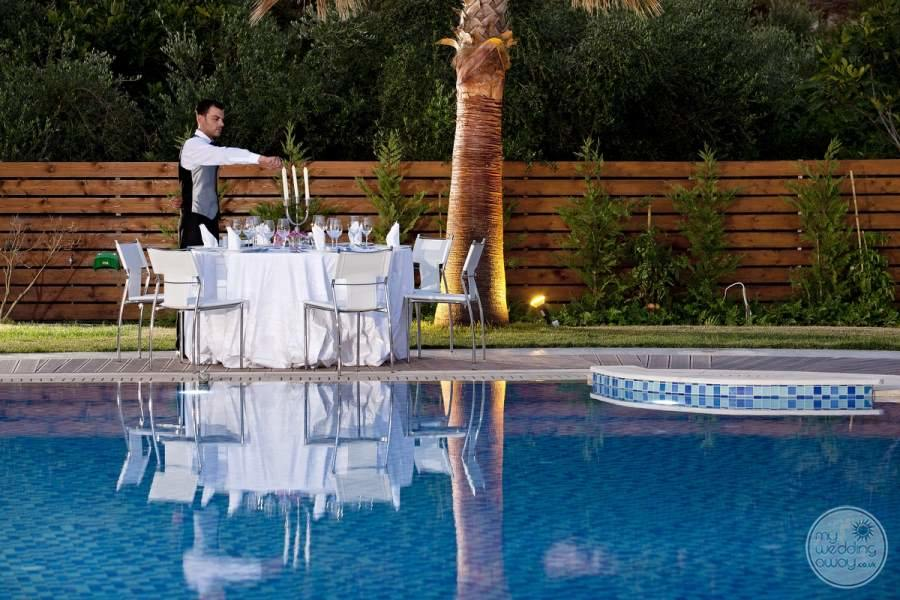 Lesante Luxury Hotel Poolside Reception