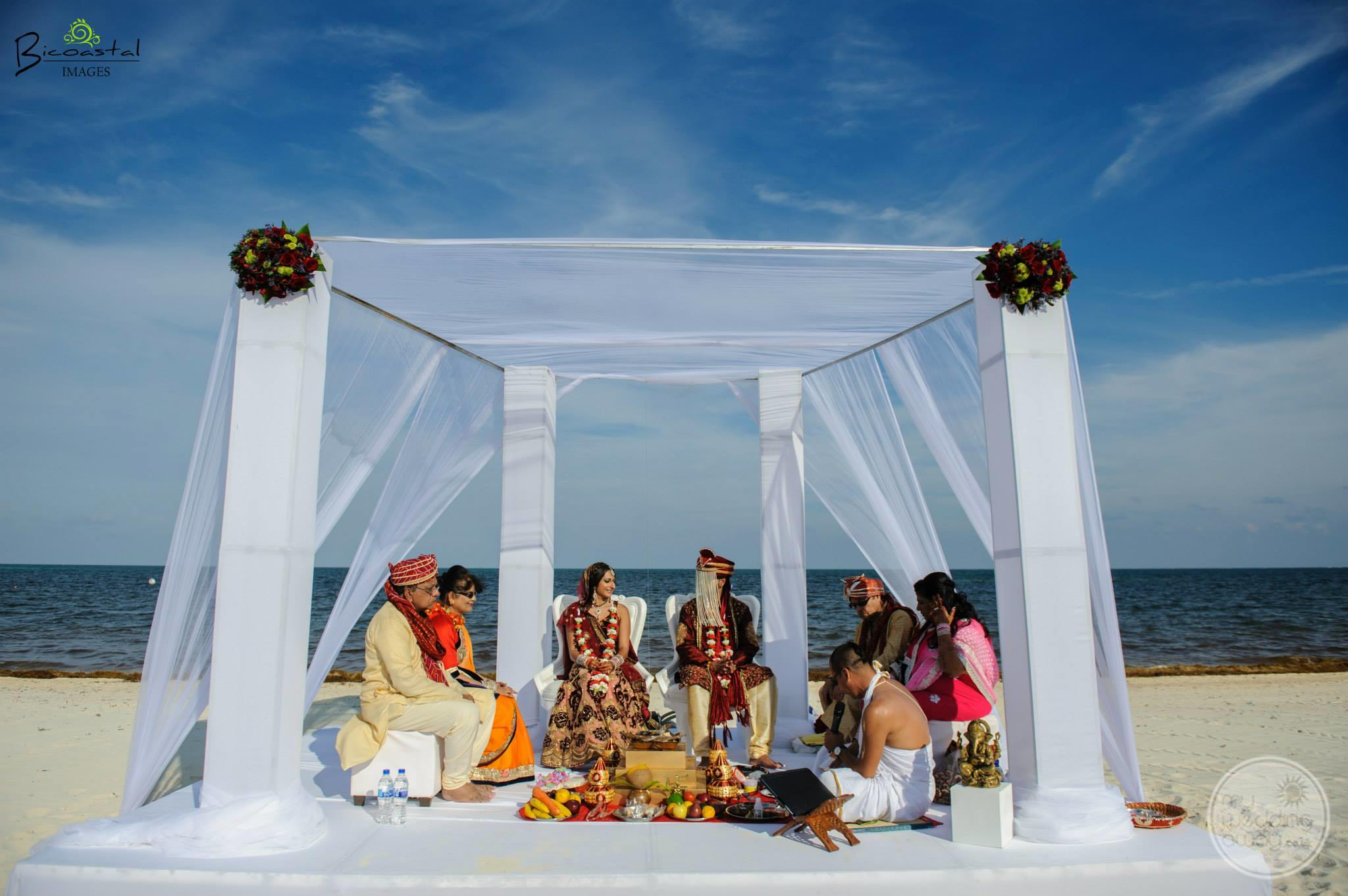 Moon Palace Beach Wedding