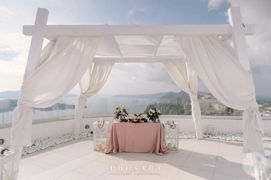 Santos Winery Wedding Gazebo