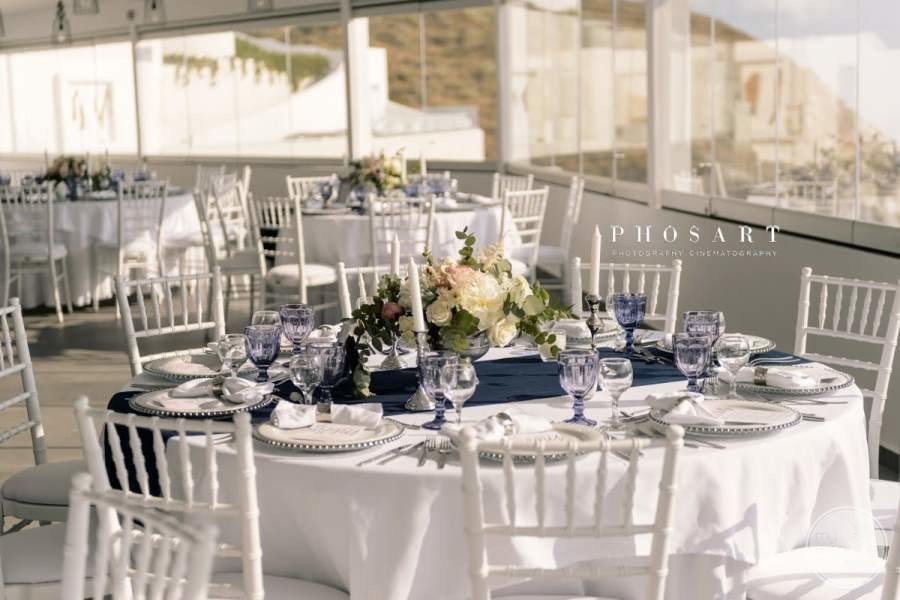 Santos Winery Wedding Tables
