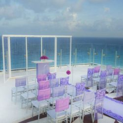 Beach Palace Terrace Wedding Venue