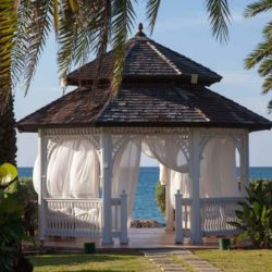 Blue Waters Antigua Destination Wedding Gazebo