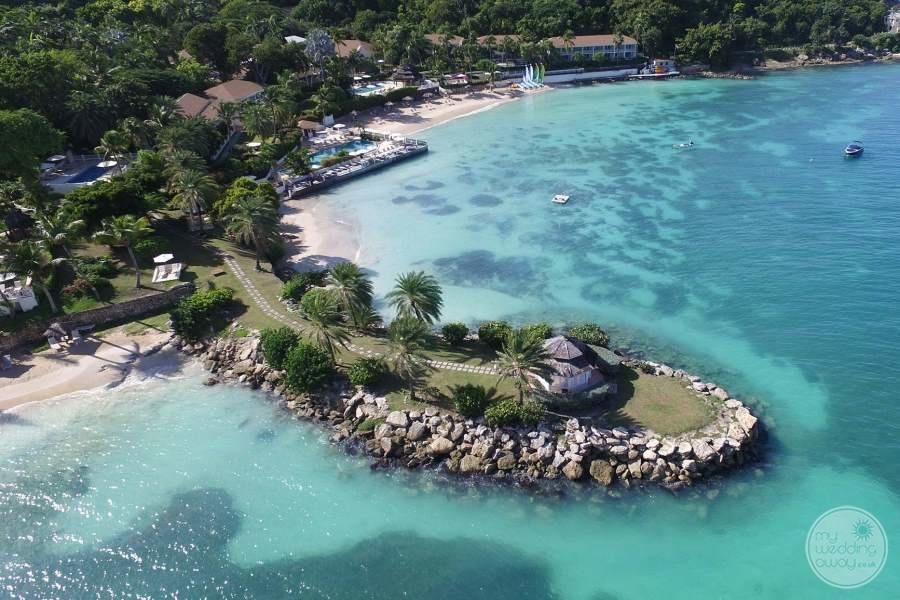 Blue Waters Antigua Gazebo on Peninsula