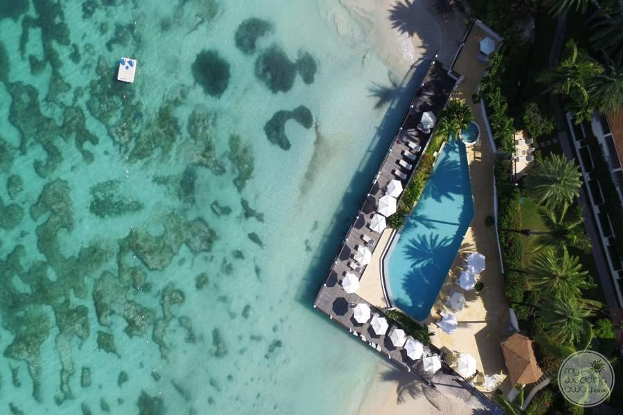Blue Waters Antigua Resort from Above