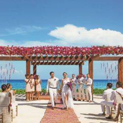 Breathless Riviera Cancun Oceanview Wedding
